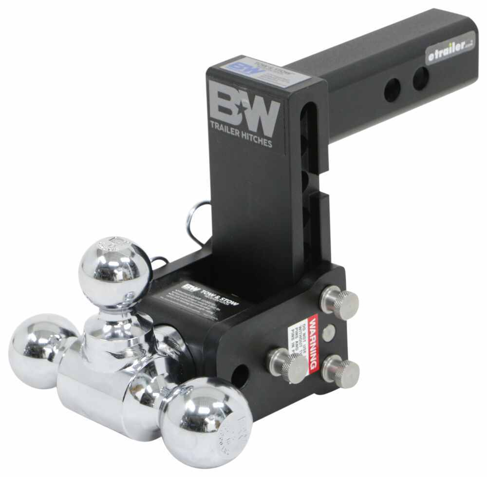 B and W Trailer Hitch Ball Mount - BWTS10048B