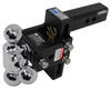 """B&W Tow & Stow 3-Ball Mount - 2"""" Hitch - 5"""" Drop, 5.5"""" Rise - 10K - Browning Fits 2 Inch Hitch BWTS10048BB"""