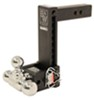 B and W Steel Ball Trailer Hitch Ball Mount - BWTS10050B