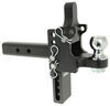 """B&W Tow & Stow Pintle Hook with 2-5/16"""" Ball - 2"""" Hitches - 10,000 lbs/16,000 lbs Steel Ball BWTS10056"""