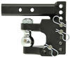 B and W 16000 lbs GTW Trailer Hitch Ball Mount - BWTS10056