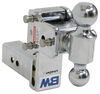B and W Steel Ball Trailer Hitch Ball Mount - BWTS20037C