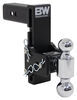 BWTS20040B - Two Balls B and W Adjustable Ball Mount