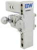 """B&W Tow & Stow 2-Ball Mount - 2.5"""" Hitch - 7"""" Drop/7.5"""" Rise - 14.5K - Chrome Drop - 7 Inch,Rise - 7-1/2 Inch BWTS20040C"""