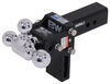 BWTS20048B - Three Balls B and W Trailer Hitch Ball Mount