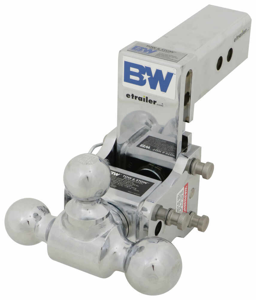 BWTS20048C - Fits 2-1/2 Inch Hitch B and W Adjustable Ball Mount