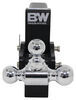 "B&W Tow & Stow 3-Ball Mount - 2.5"" Hitch - 7"" Drop/7.5"" Rise - 14.5K - Black Drop - 7-1/2 Inch,Rise - 7-1/2 Inch BWTS20049B"