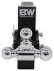 "B&W Tow & Stow 3-Ball Mount - 2.5"" Hitch - 7"" Drop/7.5"" Rise - 14.5K - Black Class V,14500 lbs GTW BWTS20049B"