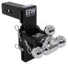 """B&W Tow & Stow 3-Ball Mount - 2.5"""" Hitch - 7"""" Drop/7.5"""" Rise - 14.5K - Black Fits 2-1/2 Inch Hitch BWTS20049B"""
