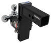 "B&W Tow & Stow 3-Ball Mount - 2.5"" Hitch - 7"" Drop/7.5"" Rise - 14.5K - Black Class V,14500 lbs GTW BWTS20049B"