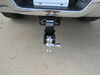 0  trailer hitch ball mount b and w adjustable class v 14500 lbs gtw b&w tow & stow 3-ball - 2.5 inch 7 drop/7.5 rise 14.5k black