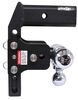 B and W 3500 lbs GTW,7500 lbs GTW,14500 lbs GTW Trailer Hitch Ball Mount - BWTS20067BMP