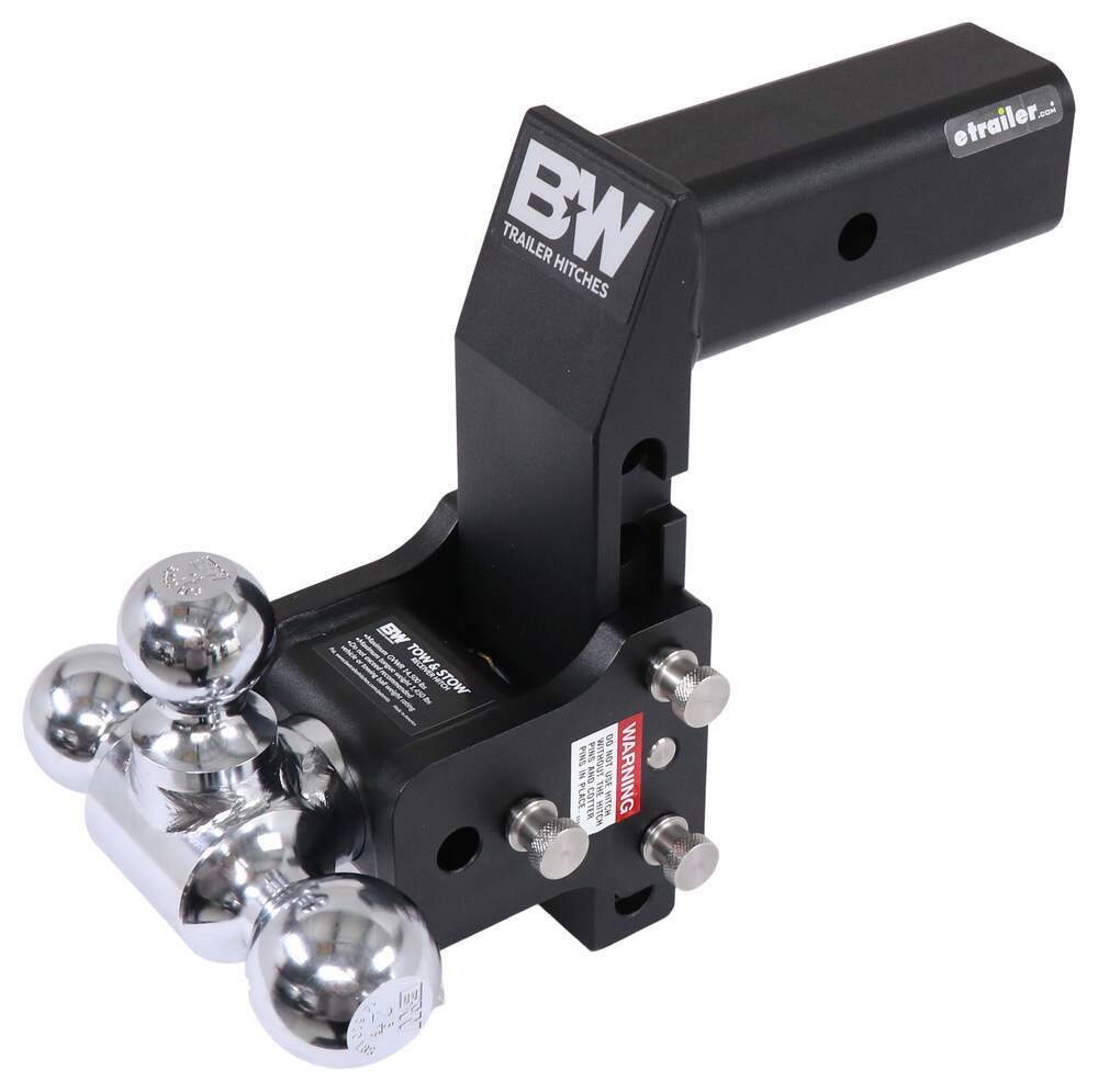 Trailer Hitch Ball Mount BWTS20067BMP - Three Balls - B and W