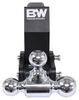 """B&W Tow & Stow 3-Ball Mount - Compatible with GM MultiPro Tailgate - 2.5"""" Hitch - 14.5K Three Balls BWTS20067BMP"""