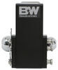 "B&W Tow & Stow 2-Ball Mount - 3"" Hitch - 4-1/2"" Drop, 4"" Rise - 21K - Black Steel Shank BWTS30037B"