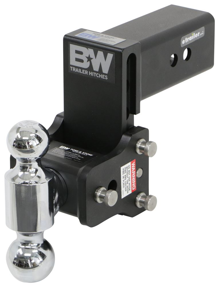 BWTS30037B - Steel Ball B and W Trailer Hitch Ball Mount