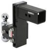 b and w trailer hitch ball mount drop - 7-1/2 inch rise 7 class v 21000 lbs gtw bwts30040b