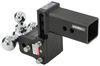 b and w trailer hitch ball mount drop - 4-1/2 inch rise 4 class v 21000 lbs gtw bwts30048b
