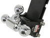 b and w trailer hitch ball mount adjustable drop - 7-1/2 inch rise 7 bwts30049b