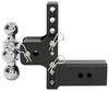 b and w trailer hitch ball mount adjustable class v 21000 lbs gtw