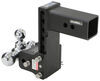 b and w trailer hitch ball mount drop - 7-1/2 inch rise 7 class v 21000 lbs gtw bwts30049b