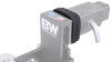 BWTS35020 - Anti-Rattle Bumper B and W Trailer Hitch Ball Mount,Drop Hitch