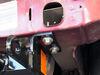BX1119 - Twist Lock Attachment Blue Ox Removable Drawbars on 2002 Jeep Liberty