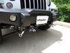 BX1133 - Twist Lock Attachment Blue Ox Removable Drawbars on 2017 Jeep Wrangler