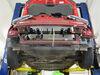 BX2261 - Twist Lock Attachment Blue Ox Removable Drawbars on 2016 Honda Fit