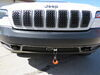 2020 jeep cherokee tow bar blue ox telescoping on a vehicle