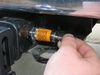 0  trailer hitch lock blue ox standard pin in use