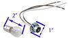 Blue Ox Tail Light Wiring Kit - Bulb and Socket Universal BX8869