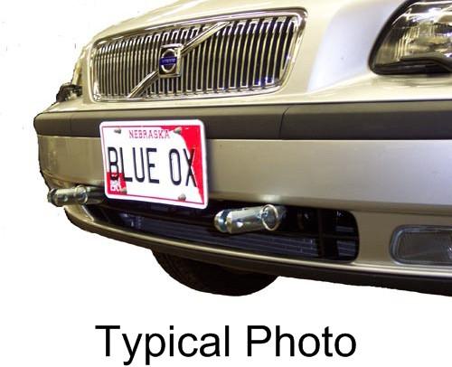 Blue Ox Twist Lock Attachment Base Plates - BX1980