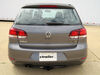 C11000 - Visible Cross Tube Curt Custom Fit Hitch on 2010 Volkswagen Golf