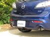 Curt Custom Fit Hitch - C11383 on 2012 Mazda 3