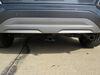 2020 hyundai kona trailer hitch curt custom fit class i on a vehicle