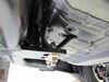C11681 - 200 lbs TW Curt Custom Fit Hitch on 2014 Honda Accord