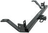 """Curt Trailer Hitch Receiver - Custom Fit - Class II - 1-1/4"""" Concealed Cross Tube C12053"""