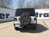 Trailer Hitch C13392 - 4000 lbs WD GTW - Curt on 2018 Jeep JL Wrangler Unlimited