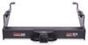 curt trailer hitch 20000 lbs wd gtw 2700 tw receiver - custom fit class v commercial duty 2-1/2 inch