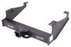 curt trailer hitch custom fit 20000 lbs wd gtw receiver - class v commercial duty 2-1/2 inch