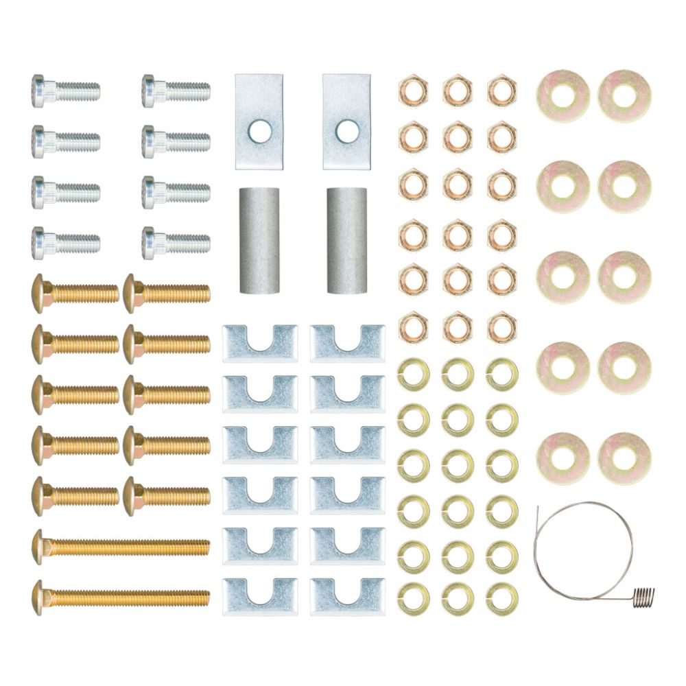 Replacement Hardware for Curt Universal 5th Wheel Installation Kit - 10 Bolt Hardware Kit C16111