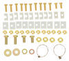 C16418-204 - Above the Bed Curt Fifth Wheel Installation Kit