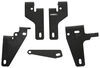 Curt Custom Fifth Wheel Installation Kit for Dodge Ram - Gloss Finish Above the Bed C16426-104
