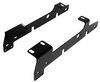 Curt Custom Fifth Wheel Installation Kit for Ford F150 and F250 - Carbide Finish Above the Bed C16437-204