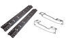 Curt Custom Fifth Wheel Installation Kit for Ford F150 - Carbide Finish Above the Bed C16441-204