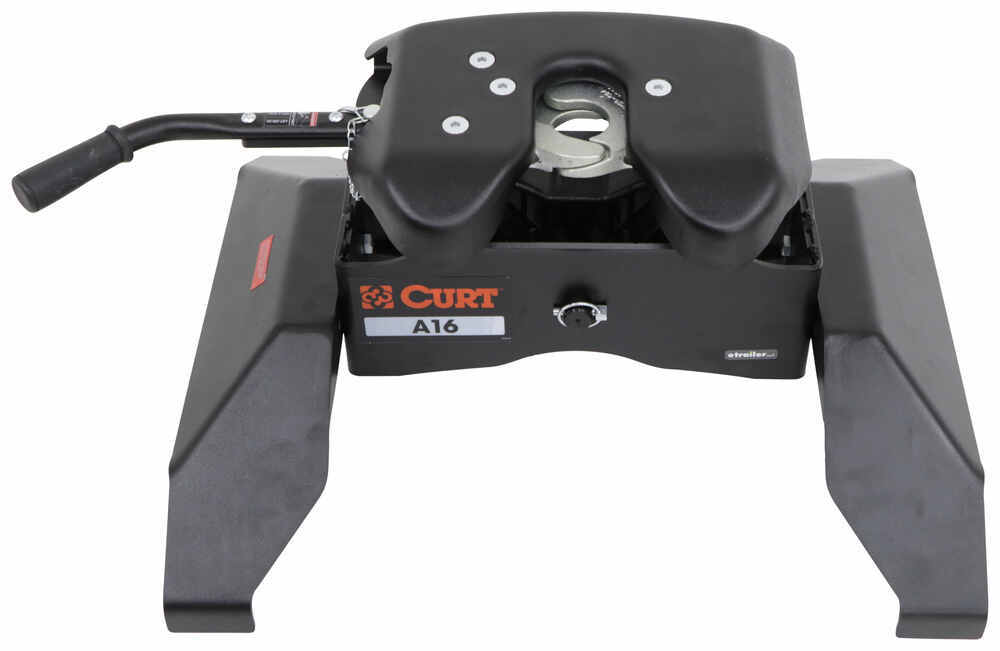 Curt A16 5th Wheel Trailer Hitch for Chevy/GMC Towing Prep Package - Dual Jaw - 16,000 lbs 4000 lbs TW C16520-16025