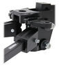 Curt Short-Arm Weight Distribution System with Shank - Trunnion Bar - 8,000 lbs GTW, 800 lbs TW Bar Style C17331