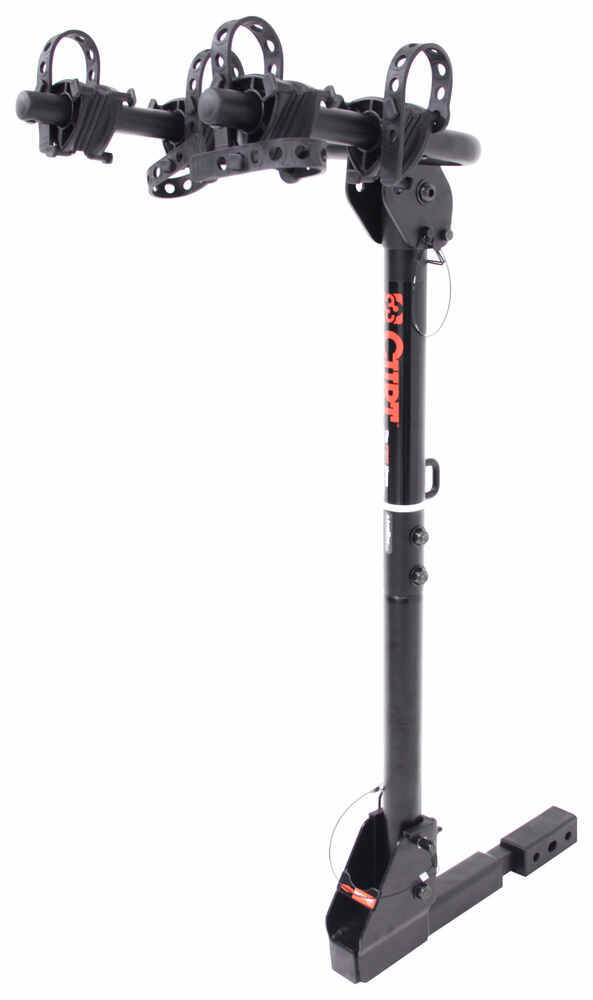 """Curt 2 Bike Rack for 1-1/4"""" and 2"""" Hitches - Tilting Locks Not Included C18029"""