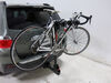 2013 toyota highlander hitch bike racks curt hanging rack 2 bikes for 1-1/4 inch and hitches - tilting